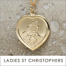 Ladies St Christopher Necklaces
