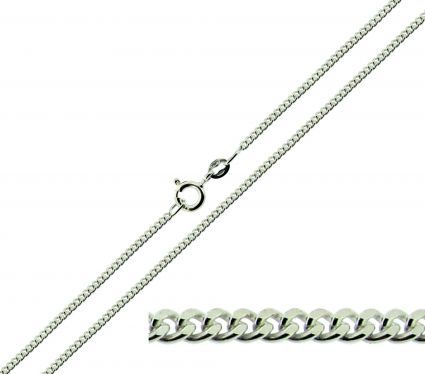 Sterling Silver 1.8mm Diamond Cut Curb Chain